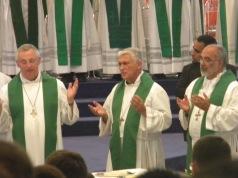 Obispo de Cádiz y Ceuta D. Rafael Zornoza Boy en Porto San Giorgio