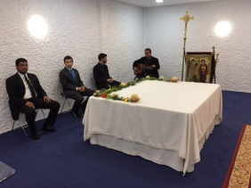 Primera Eucaristía del Seminario presidida por el Obispo D. Rafael (23/10/2016)