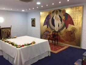 Preparativos para la primera Eucaristía (23/10/2016)