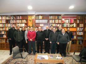 Con el Redemptoris Mater de Sevilla