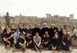 En el mirador San Nicolás en Granada