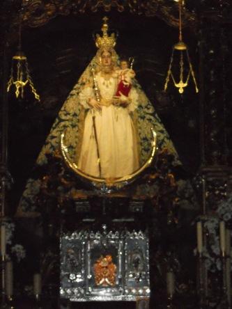 Virgen de Araceli en Lucena
