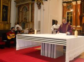 Eucaristía con el Seminario Redemptoris Mater de Córdoba
