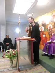 Eucaristía con los hermanos de la Casa de convivencias de Cabra