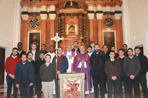 Seminarios de Córdoba y Cádiz después de la Eucaristía